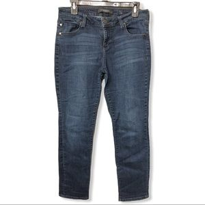 Liverpool Straight Leg Dark Wash Jeans